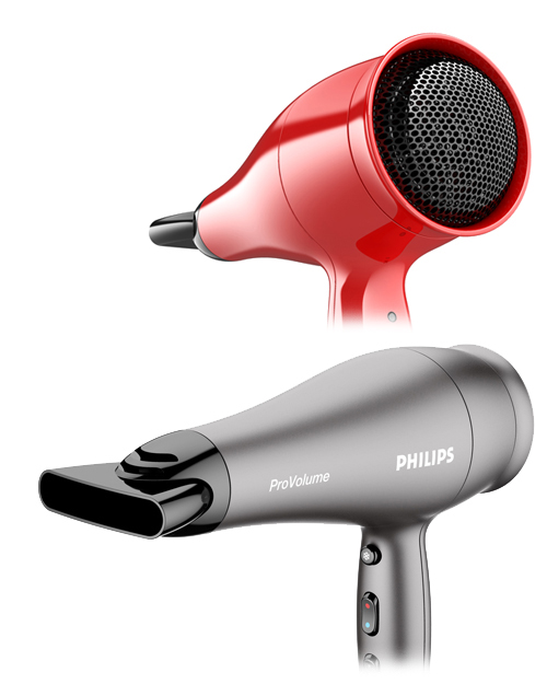 Hairdryer modellied in Alias studio